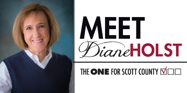 Meet Diane Holst - Candidate for Supervisor Scott County Iowa
