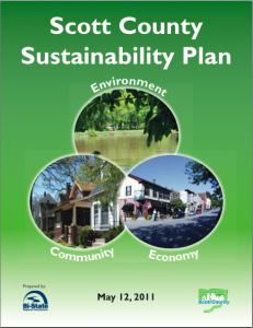 Scott County Iowa Sustainability Plan 2011