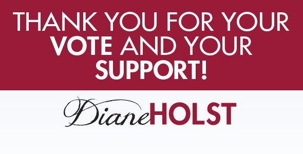 Join Diane Election Night at Bad Boyz Pizza 9pm-12am