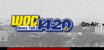 Interview: Jim Fisher on WOC 1420AM Oct 29, 2014